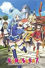Konosuba - Manga/Anime TV Show Poster/Print (Key Art) (Size: 24 inches x 36 inches)
