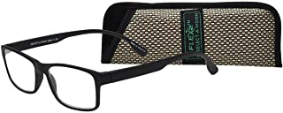 Select-A-Vision Flex 2 Lightweight Flexible Square Readers, Black, 2.75