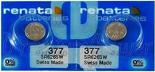 deux Batterie RENATA 377 SR626SW