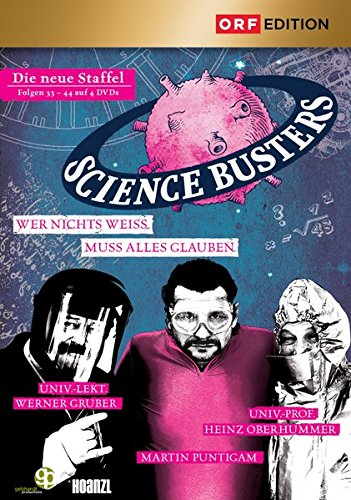 Science Busters: Folgen 33-44 [4 DVDs]