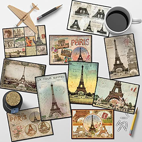 Lot 50 cartes postales Paris vintage