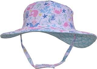 Girls' Toddler UPF 50+ Summer Splash Swim Hat