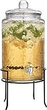 HC Classic Beverage Drink Dispenser Hammerd Durable Glass on Stand 3 Gallon with Spigot