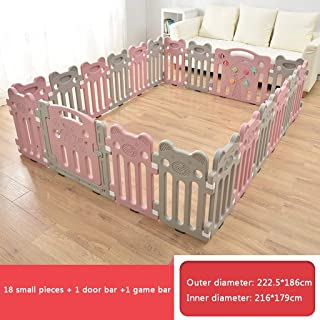 Baby Playpen  Baby Playpen Castle Infant Colourful Panels With Doors Panel And Interactive Play Panel  Color