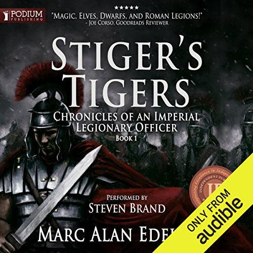Stiger's Tigers audiobook cover art