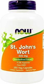 Now Foods, St. John's Wort, 300 mg, 250 Veg Capsules