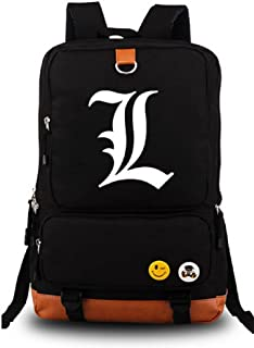 Siawasey Japanese Anime Cartoon Cosplay Canvas Luminous Backpack Shoulder School Bag
