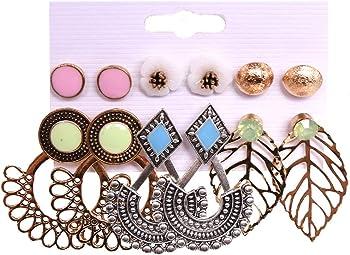 Fashion Pearl Hoop Earring Sets