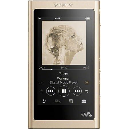 ソニー ウォークマン Aシリーズ 64GB NW-A57 : Bluetooth microSD対応 ハイレゾ対応 最大45時間連続再生 2018年モデル ペールゴールド NW-A57 N