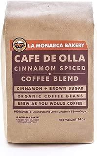 Cafe de Olla, La Monarca Bakery's Cinnamon Spiced Coffee Blend, 14 Oz