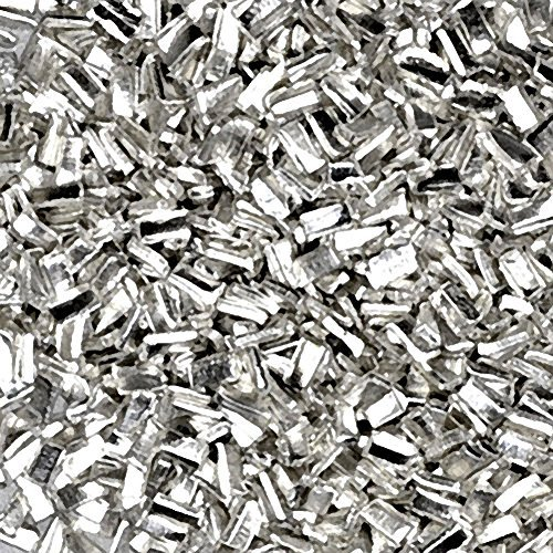 Silver Solder Chip Ultra Tiny Precut Pieces 0.5mm X 1mm X .25mm (Qty=1500)