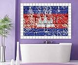 Fliesenaufkleber 15 10 25 20 cm Kambodscha Fahne Flagge Fliesenbild Fliesen Fliesenbilder Aufkleber Bad Küche 8A346, Bildformat:105cmx70cm;Fliesengröße:Fliese 20x20cm