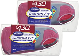Dr. Scholl's CFO Custom Fit Orthotics CF430, 2-Pair, Visit a Custom Fit Kiosk with Advanced Footmapping Technology to Get Our Recommended Custom Fit Number for You!