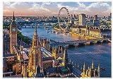 Brandsseller Puzzle de Londres (1000 piezas), diseño de Inglaterra