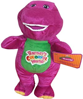 AutoKing® Best Pal Barney Dinosaur Hug Singing I Love You Musical Colorful World Plush Doll 8