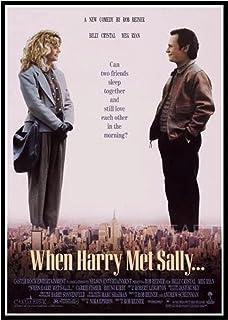 DuanWu Quand Harry a rencontré Sally Affiches de Film et Impressions Toile Mur Art Peinture Photos décoration de la Maison...