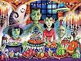 Monster Banquet Halloween Jigsaw Puzzle 550 Piece