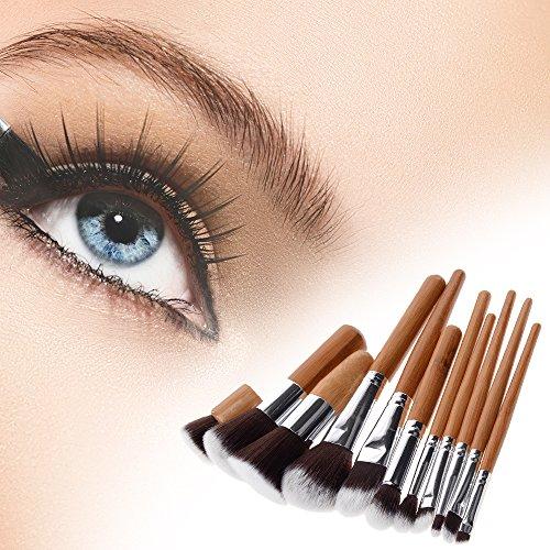 Professionelles Makeup Pinsel Set 11 Stück mit Beutel
