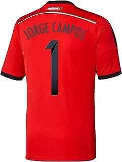 adidas Jorge Campos #1 Mexico Away Jersey World Cup 2014