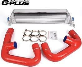 Twin Turbo Aluminum Performance Intercooler Upgrade Kit + Intercooler Pipe Kit Fit For VW Golf R GTI MK7 2.0T