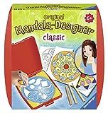 Ravensburger Mandala Designer Mini classic 29857, Zeichnen lernen für Kinder ab 6 Jahren, Kreatives Zeichen-Set mit Mandala-Schablone für farbenfrohe Mandalas -