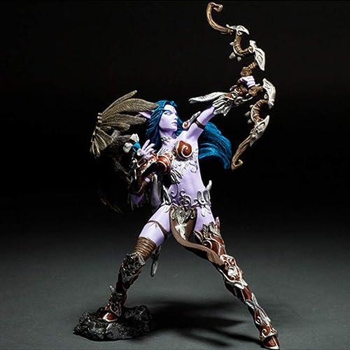 barato en alta calidad DYHOZZ Colección de Adornos de Escritorio para el el el Modelo de Juguete NightElf de World of Warcraft - Altura  7 in Estatua de Juguete  Tienda 2018
