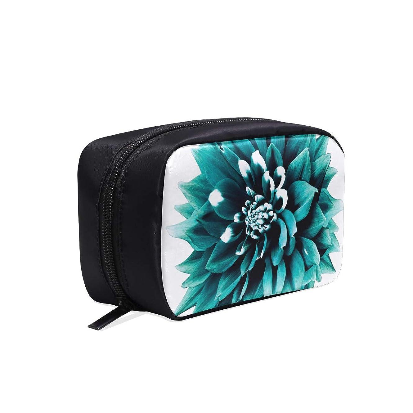 近代化する横原稿DMHYJ メイクポーチ 咲く ダリア ボックス コスメ収納 化粧品収納ケース 大容量 収納 化粧品入れ 化粧バッグ 旅行用 メイクブラシバッグ 化粧箱 持ち運び便利 プロ用