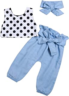 Toddler Baby Girls Clothes Off The Shoulder Ruffle Halter T-Shirt Tops Pants Sets Fall Kids 2Pcs Outfit Set 1-6T