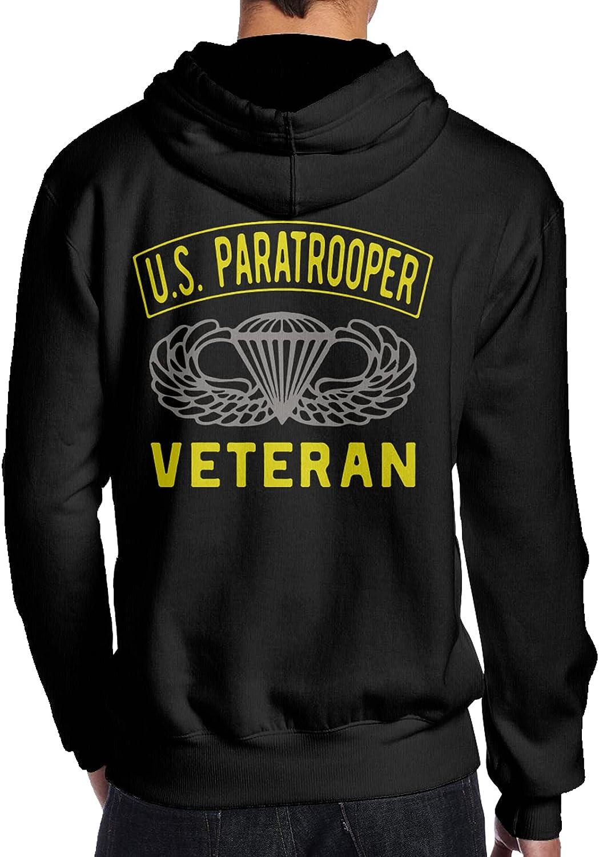 Us Paratrooper Army Veteran Ranking TOP9 Regular store Casual Pullover Sweatshirt   Man'S