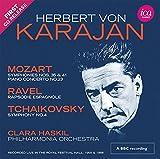 Philharmonia Orchestra: Herbert von Karajan: Mozart, Ravel, Tchaikovsky (Royal Festival Hall 1955 & 1956) [2 CDs] (Audio CD (Live))