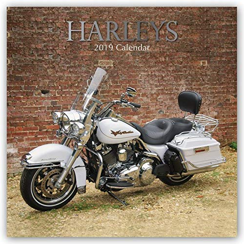 Harleys - Harley Davidson 2019 - 16-Monatskalender: Original The Gifted Stationery Co. Ltd [Mehrsprachig] [Kalender] (Wall-Kalender)
