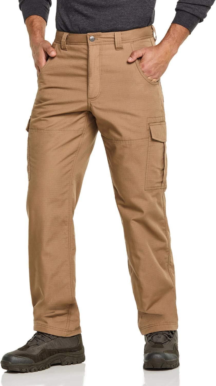 CQR Max 61% OFF Men's Winter Tactical Pants Ripstop Ranking TOP15 Fleece Repellent Water