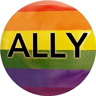 Ally - Rainbow On Black - 1.25