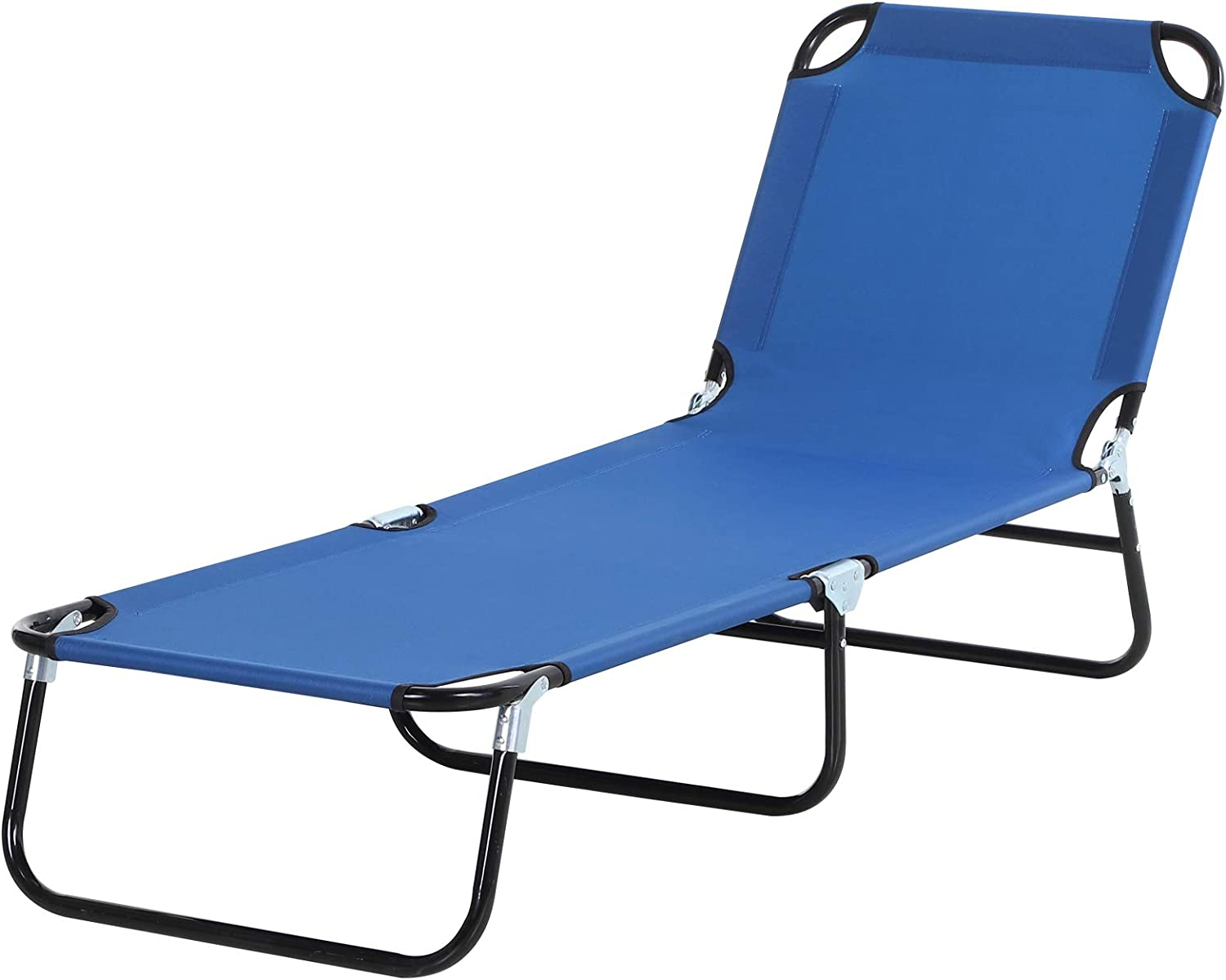 Outsunny 4-Position Seasonal Wrap Free Shipping New Introduction Adjustable Backrest Chaise wit Chair Lounger