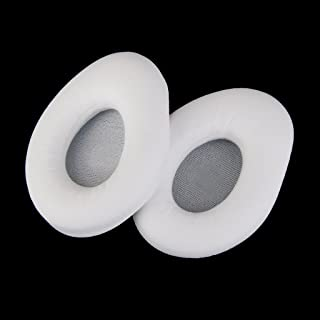 White Ear Pads Earpads Cushions for Monster-Diamond Tear Edge On-Ear Headset