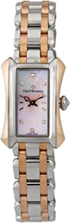 Alacria Princess Steel & 18k Rose Gold Womens Watch Pink Mother-of-Pearl Dial 00.10703.07.77.21 Retail Price $6,700.00