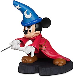 Disney Parks Sorcerer Mickey Mouse Light Up Figurine Statue NEW