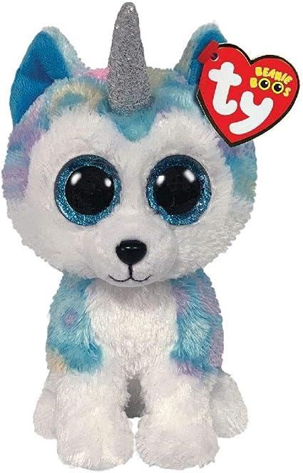 Alaska Stuffed Animals, Amazon Com Ty Helena Husky W Horn Beanie Boos Toys Games