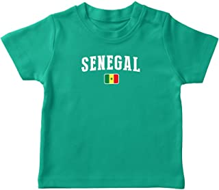 Senegal T-Shirt Kids Infant Country Flag Tee World Cup Pride