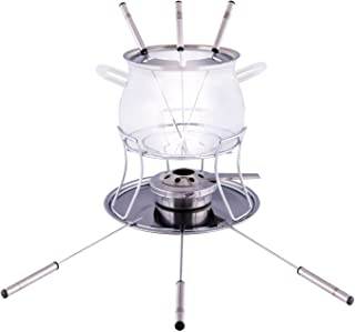 "Style'n Cook Swiss Fondue Set, 14.5cm/5.3"", Stainless Steel"
