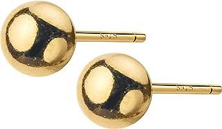 BBZZ Boucles d'oreilles sphériques, adaptées au Lustre Femelle, Boucles d'oreilles en Argent Sterling en Argent Sterling d...