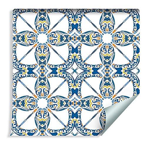 Muralo 75427337 - Carta da Parati in Tessuto Non Tessuto, Motivo Orientale Multicolore