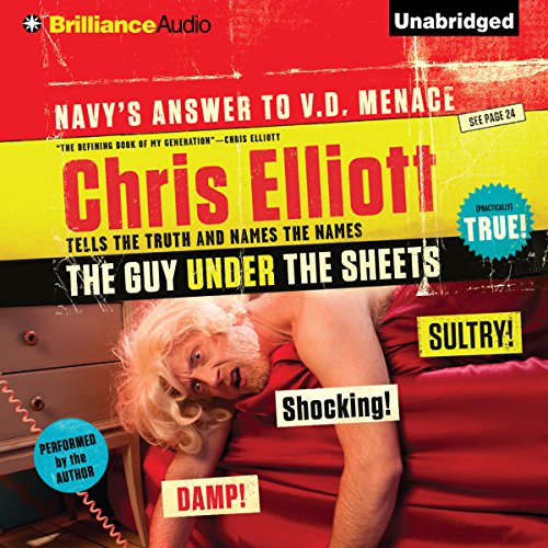 The Guy Under the Sheets audiobook cover art