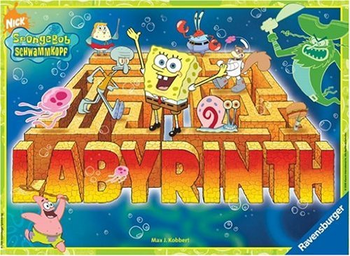 Ravensburger 26489 - SpongeBob verrückte Labyrinth