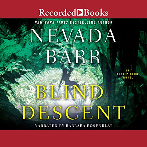 Blind Descent audiobook cover art