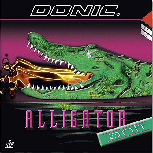 DONIC Belag Alligator Anti, schwarz, 1,0 mm