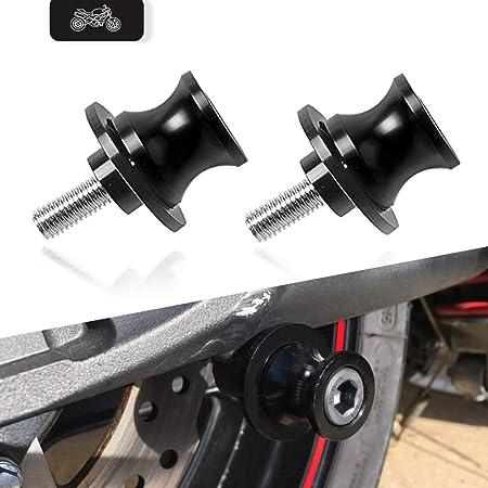 Universal Montageständer Racingadapter M10 1 25 Bobbins Ständeraufnahme Für Duke Rc 125 200 390 Z250 Z750 S Z1000 Er6f Er6n Versys 1000 650 Ninja 250 300 Zx6r Zx9r Zx12r Fzr 400 1000 Mehrfarbig Auto