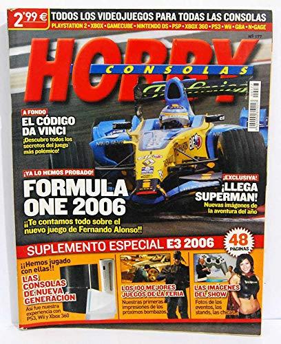 Hobby Consolas Nº 177 (incluye suplemento central Especial E3 2006)
