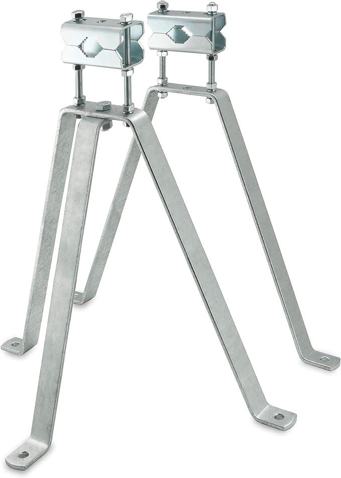 SKT MN03-01 Soporte para Mastil de Antena largo 50 cm galvanizado