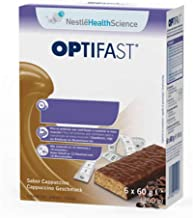 Optifast Cappuccino Bar 6 Bars 60 g Each Estimated Price : £ 10,09